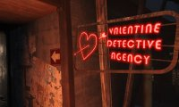Inside the Valentine Detective Agency...