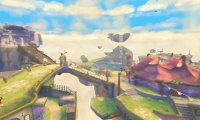 Legend of Zelda Skyloft Atmosphere